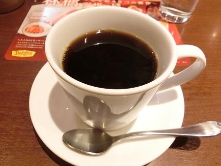 デニーズ 食後のホットコーヒー