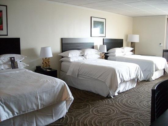 シェラトンワイキキホテルのトリプルルーム