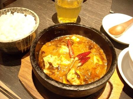 ロンフーダイニングの麻婆豆腐ランチ