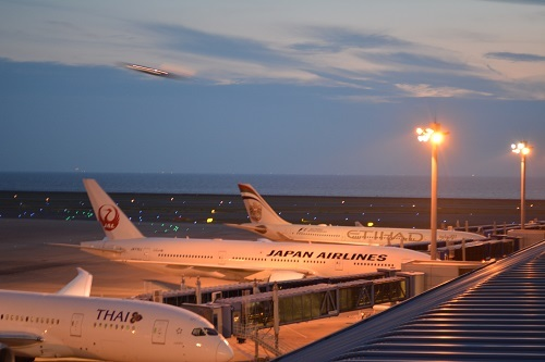 中部国際空港(セントレア)のスカイデッキ