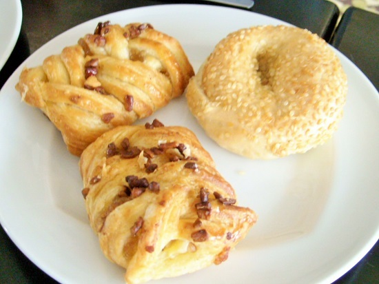 レアヒクラブラウンジの朝食