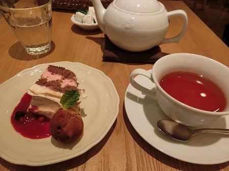 ラズベリーショートケーキ