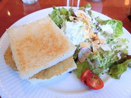 ハーブスのサンドイッチ