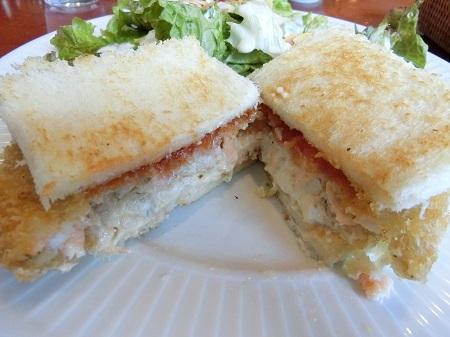 ハーブスの海老カツレツとタルタルソースのサンドウィッチ
