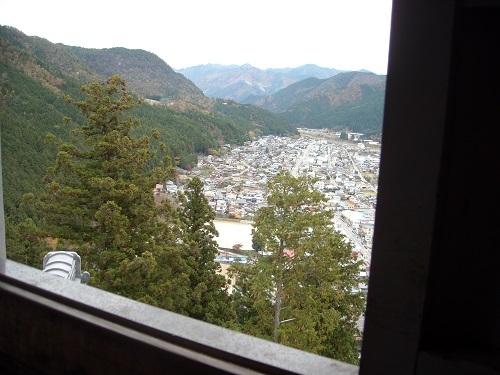 郡上八幡城からの眺め