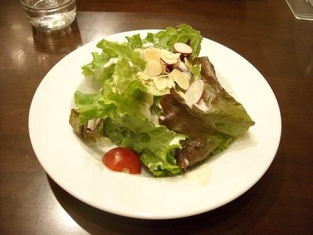 ハーブスのランチサービスのサラダ