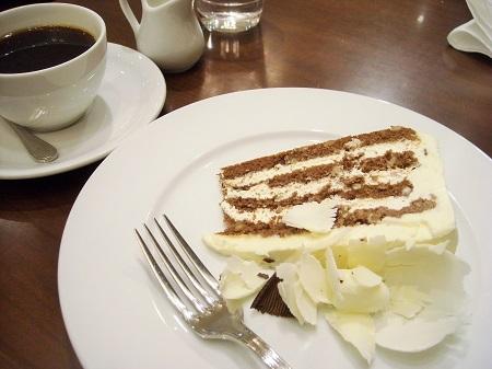ハーブス ランチのハーフサイズのケーキ
