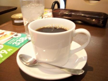 デニーズのホットコーヒー